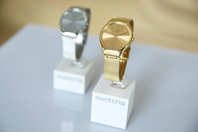 Prezentacja nowej kolekcji SKIN Irony marki Swatch/fot. materiały prasowe