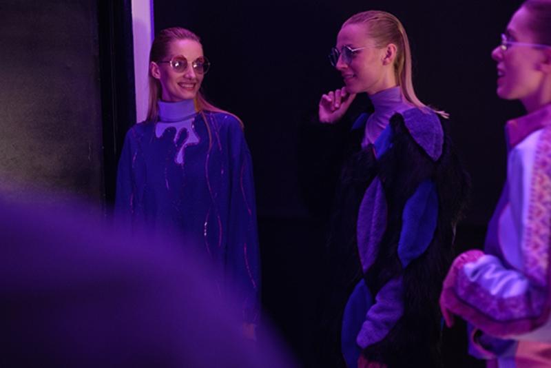 Backstage pokazu kolekcji Sebastiana Gąsienicy-Łuszczka podczas 9. edycji Fashion Designer Awards/fot. Łukasz Jezierski