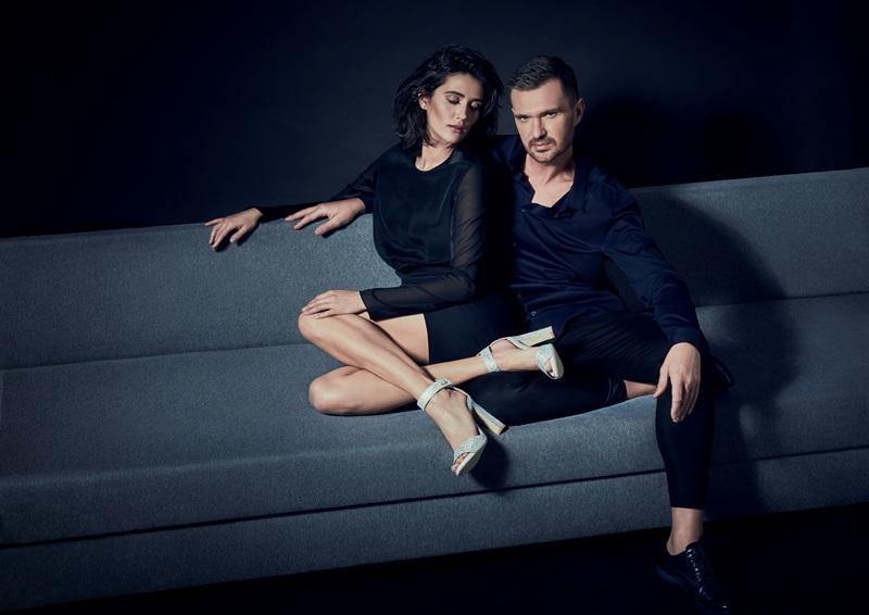 Sesja wizerunkowa butów stworzonych przez Macieja Zienia dla marki Baldowski/fot. Iga Chojnicka