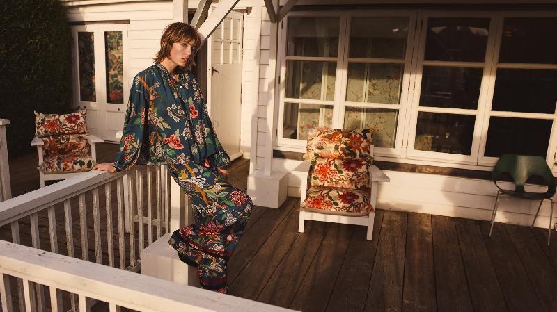 Kampania kolekcji H&M x GP & J BAKER/fot. materiały prasowe