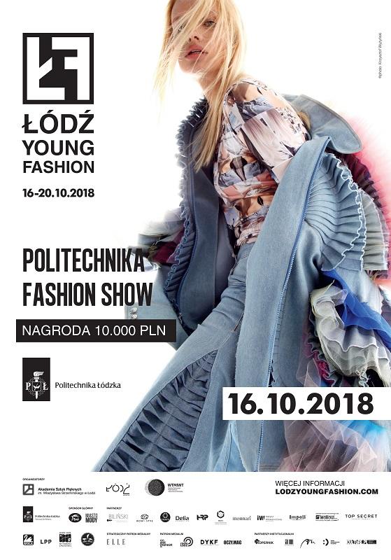 Plakat promujący wydarzenie Politechnika Fashion Show/fot. materiały prasowe
