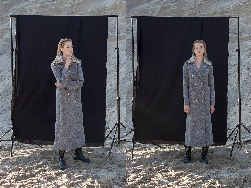 """Lookbook kolekcji """"Aurora Borealis"""" Angeliki Józefczyk/fot. Aleksander Ikaniewicz"""