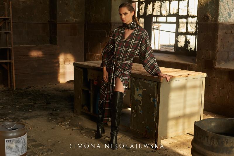 Kampania najnowszej kolekcji Simony Nikołajewskiej jesień-zima 2018-19/fot. Dominika Jarczyńska