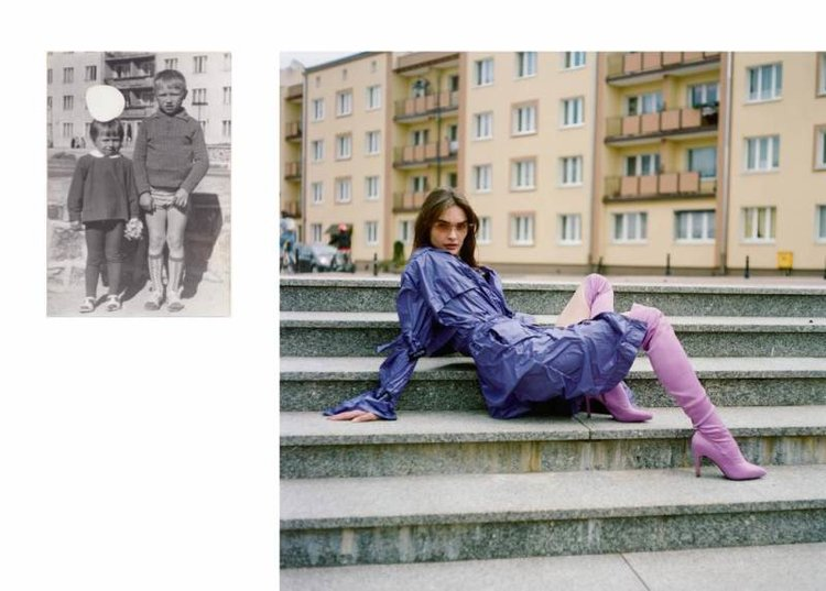 Kampania kolekcji na sezon wiosna-lato 2018 marki Dunst/fot. Mateusz Grzelak