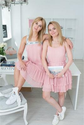 Założycielki i projektantki marki Bizuu - Blanka Jordan i Zuzanna Wachowiak