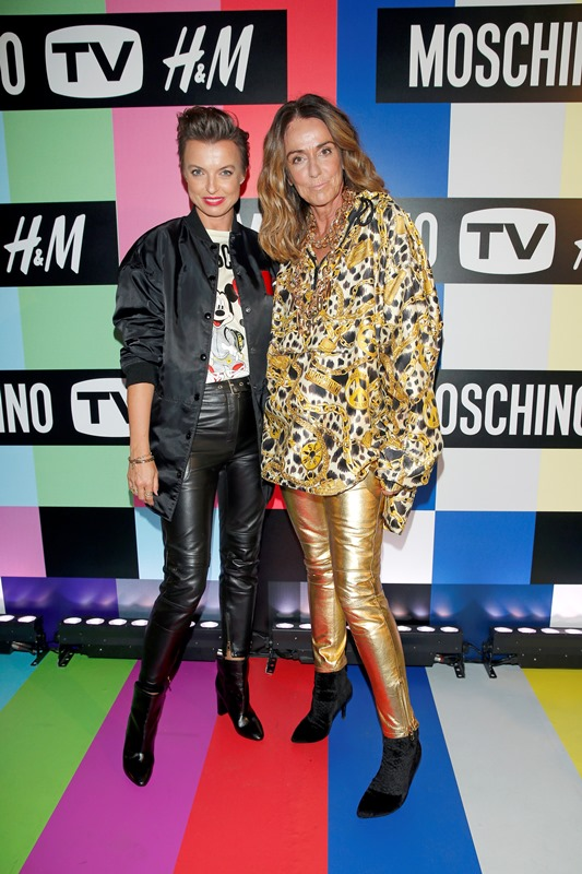 Kasia Sokołowska i Dominique Fantaccino/fot. AKPA