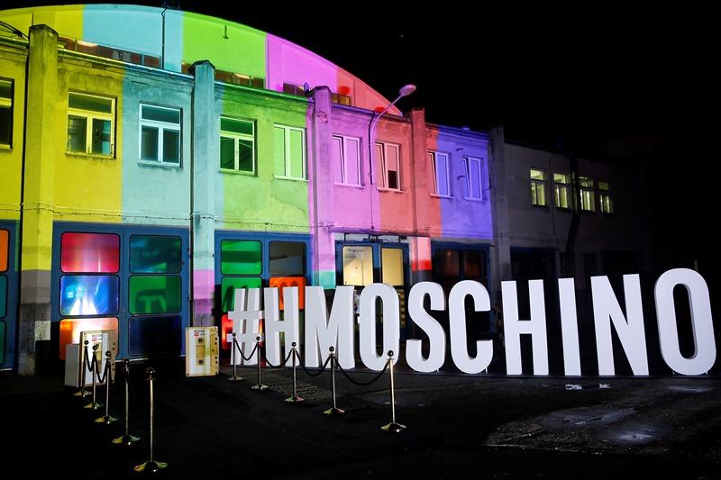 Wejście na event Moschino [tv] H&M/fot. AKPA