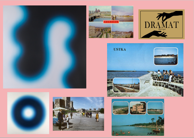 Moodboard kolekcji wiosna-lato 2019 marki Dramat Europe