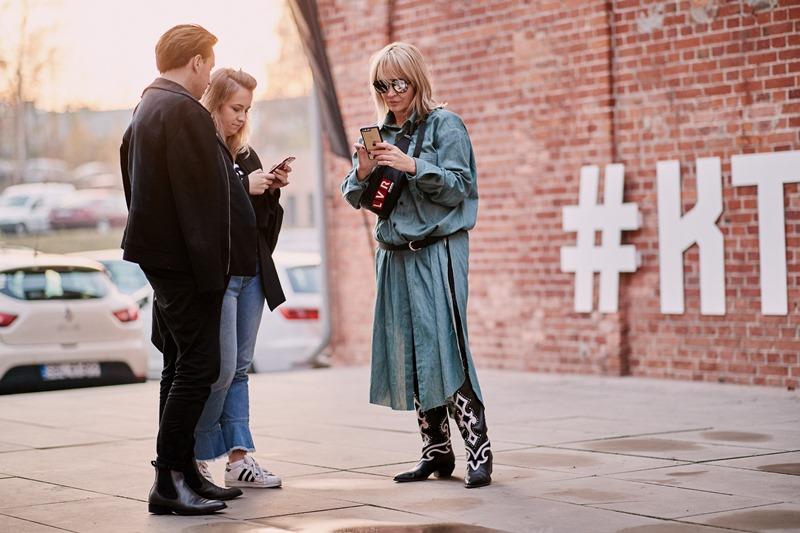 Przemysław Kowalski, Adrianna Jannasz i Anna Puślecka/fot. Szymon Brzóska - The Style Stalker