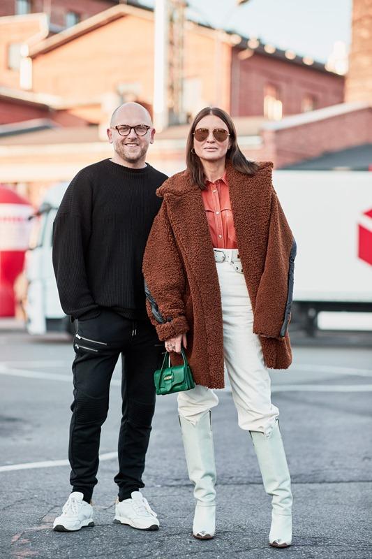 Rafał Wyszyński i Joanna Horodyńska/fot. Szymon Brzóska - The Style Stalker