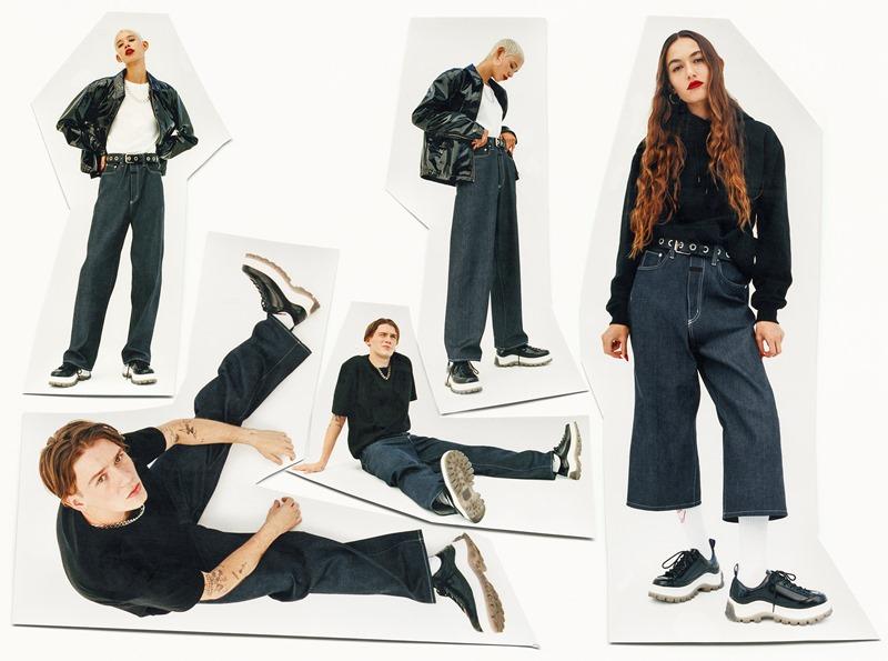 Kampania kolekcji EYTYS x H&M/fot. materiały prasowe