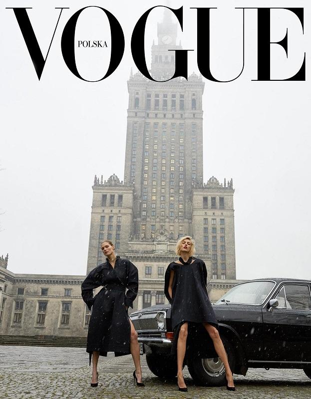 I okładka polskiej edycji magazynu Vogue/fot. Juergen Teller