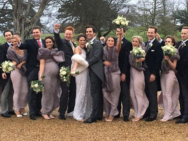 Congratulations to Hugo and Madeleine! A stunning wedding at Folkington