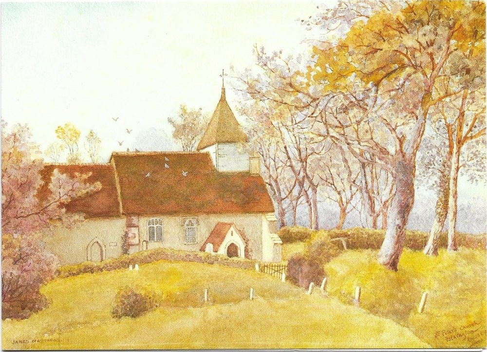 Watercolour of Folkington.jpeg
