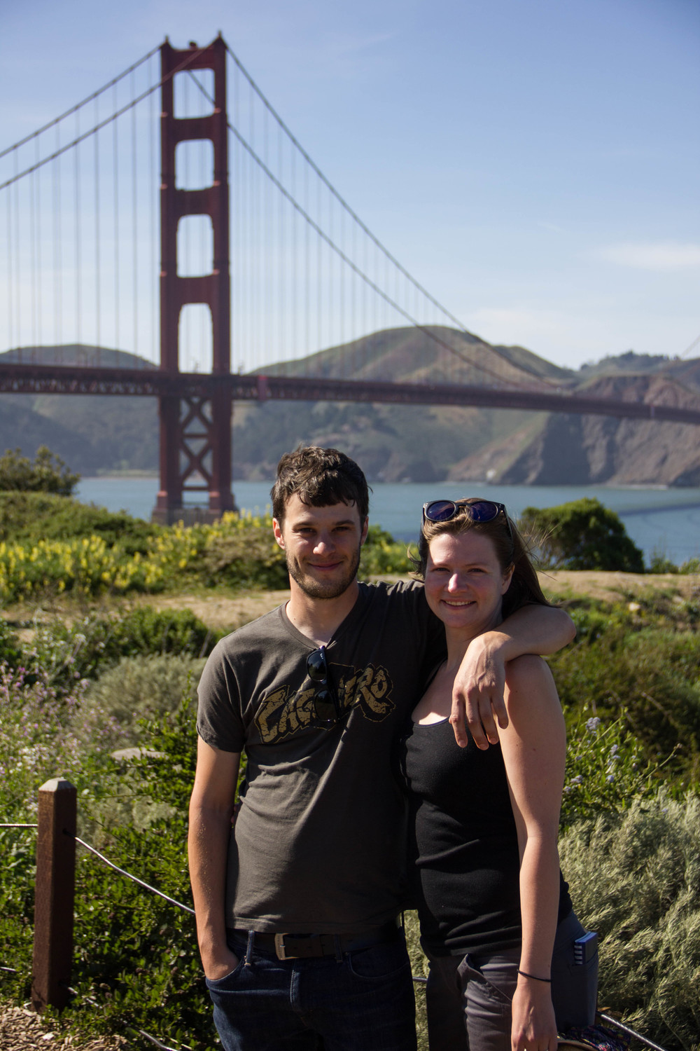 Golden Gate Bridge picture, check!