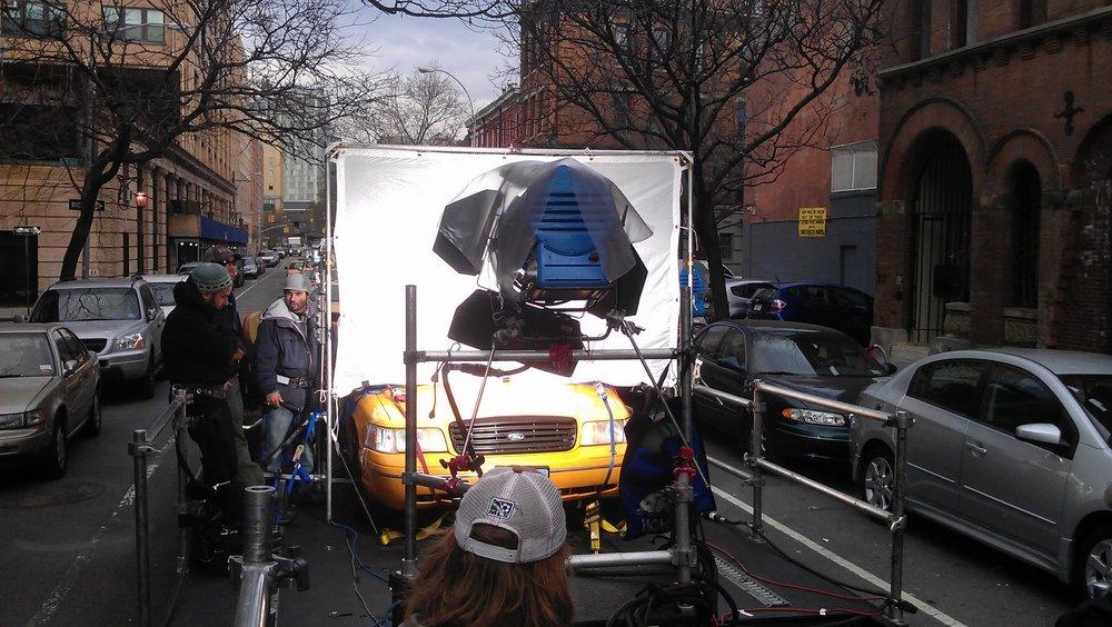 Process trailer rig