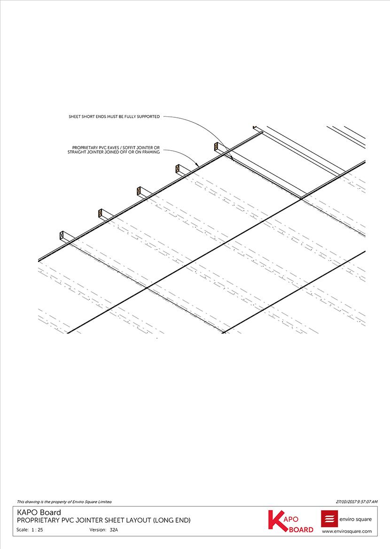 32A PVC jointer sheet layout (long end)