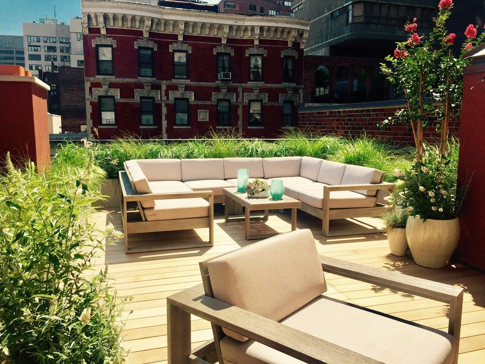 Rooftop Garden - Upper East Side