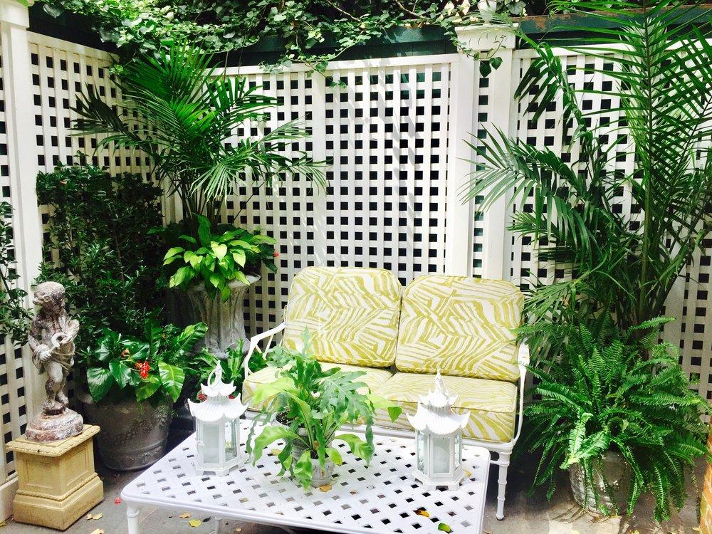 Backyard Patio - Upper East Side
