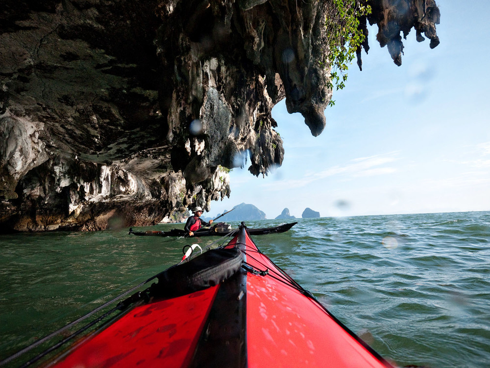 Kayaking the Thai Coast