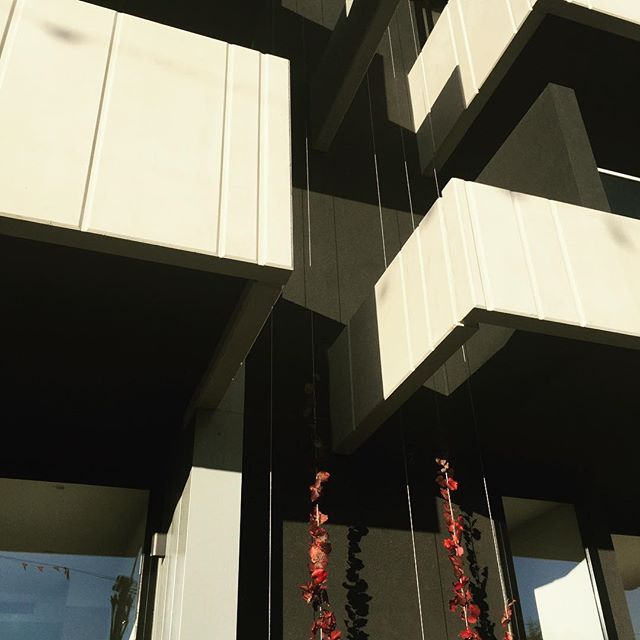 "MAC Crystal ""Black"" applied to apartments in Brighton, Victoria. Nearly 2 years on and looking like new. #macrender"
