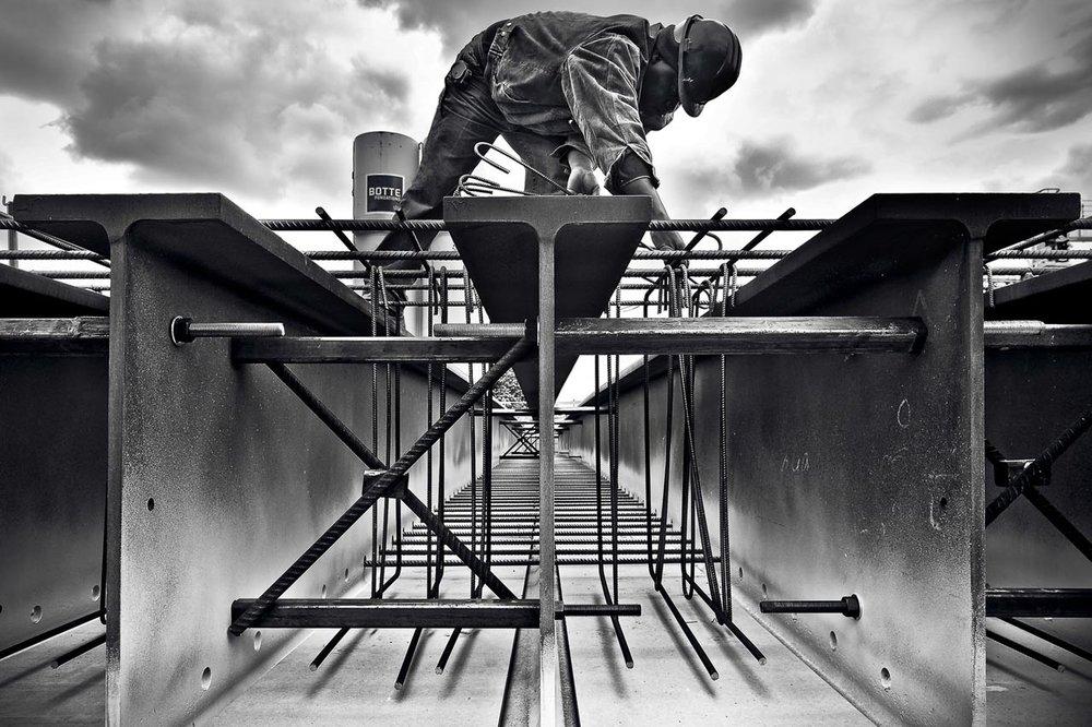 Photographe Noir & Blanc Chantier