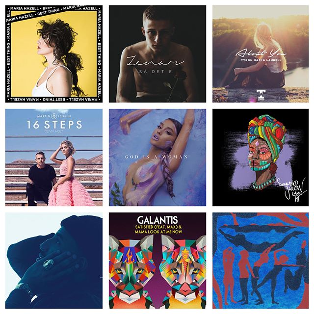 Veckans adds:  Lamix - Seynabo Jallow Martin Jensen Ft. Olivia Holt - 16 Steps Kim Cesarion - Honest Galantis Ft. MAX - Satisfied Maria Hazell - Best Thing Childish Gambino - Summertime Magic MØ Ft. Diplo - Sun In Our Eyes  Ariana Grande - God Is A Woman Zenar - Så Det E Louis The Child Ft. Quinn XCII - The City Tyron Hapi Ft. Laurell - About You