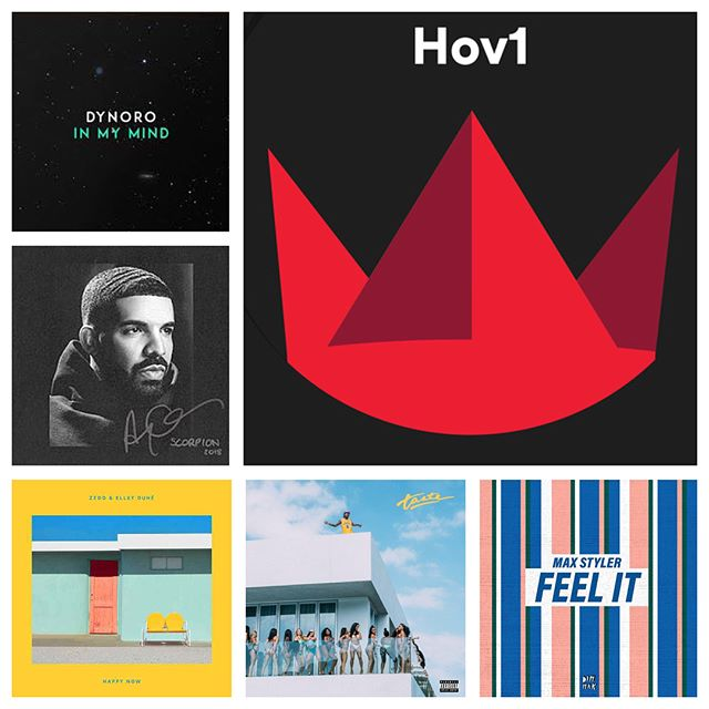 Veckans adds:  Hov1 - Still Zedd Ft. Elley Duhé - Happy Now Max Styler - Feel It Lost Kings Ft. Tove Styrke - Stuck Tyga Ft. Offset - Taste Dynoro Ft. Gigi D'Agostino - In My Mind Drake - In My Feelings