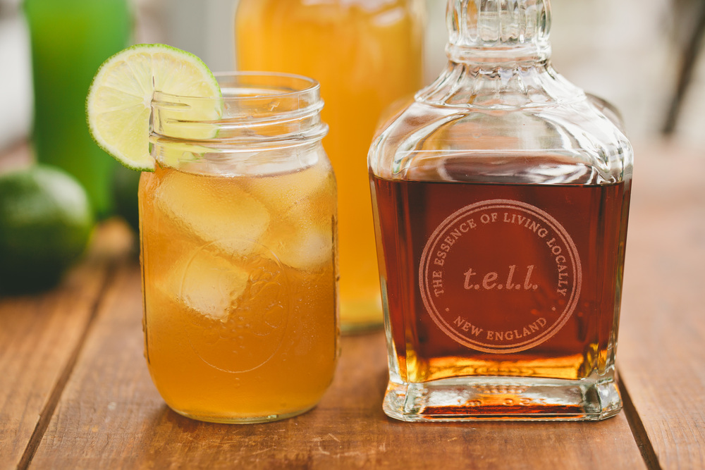 Ginger Root 'Healing' Cocktail Recipe by Mandi Tompkins