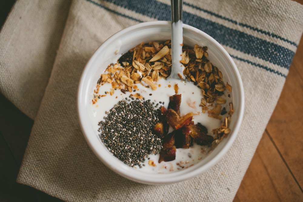 Add granola, chia seeds, and dates for some extra flavor and nutrients!