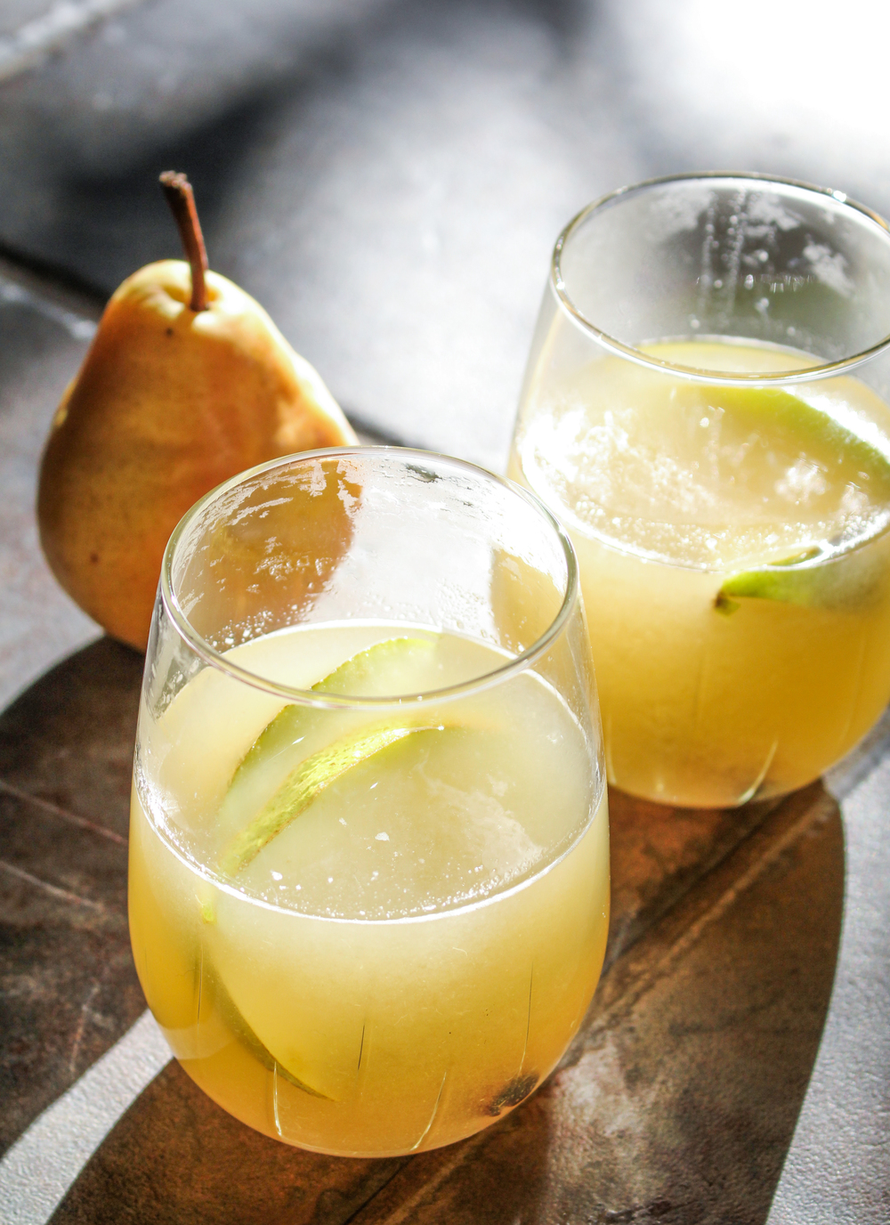 Mulled Pear Sangria