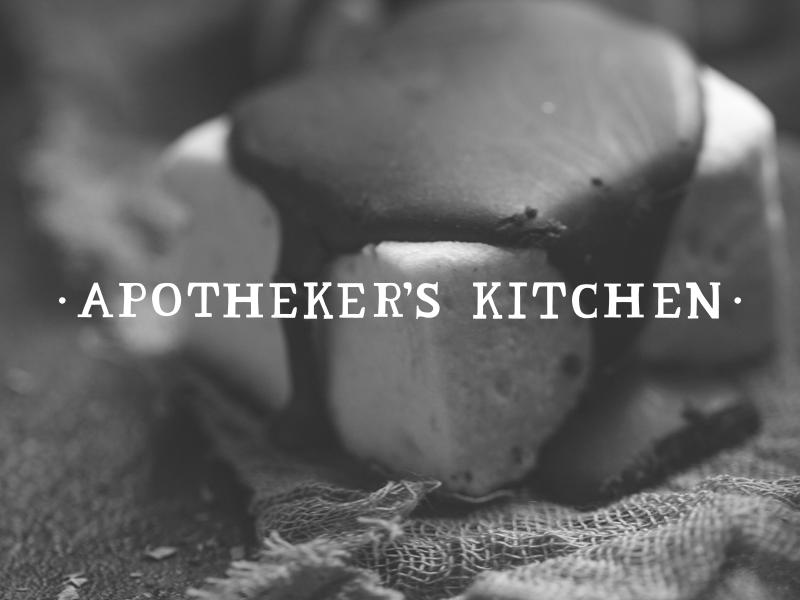 DAY 3 - APOTHEKER'S KITCHEN