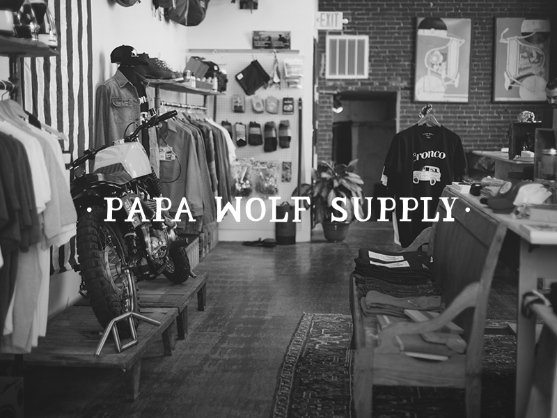 DAY 4- PAPA WOLF SUPPLY