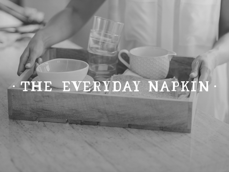 DAY 23 - THE EVERYDAY NAPKIN