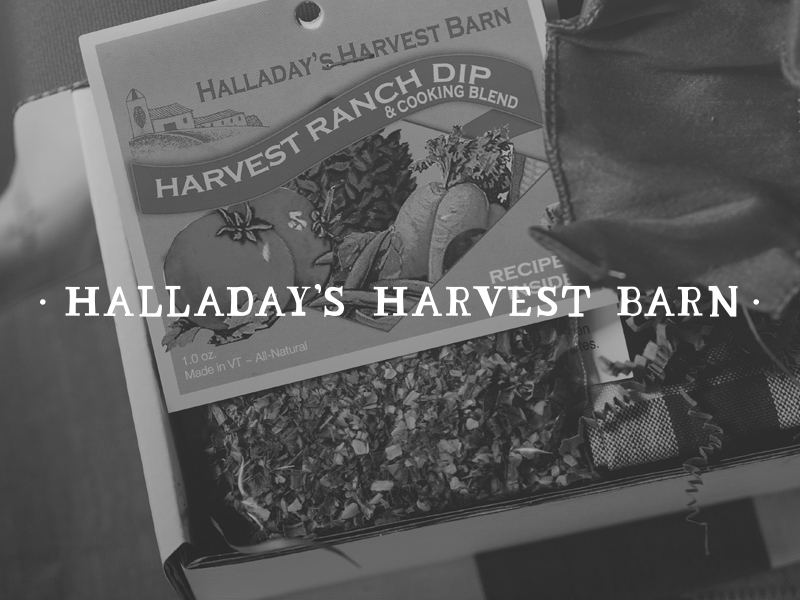 DAY 24 - HALLADAY'S HARVEST BARN