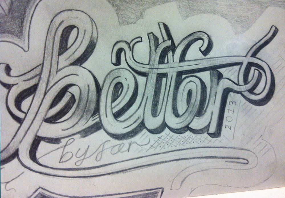 Better by far - an incomplete sketch on the return flight