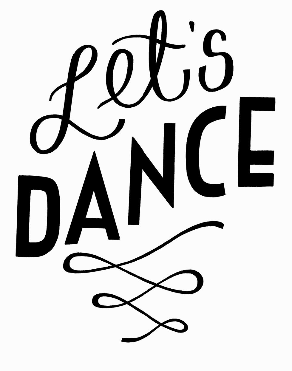 Oli Frape Lettering - Let's Dance Tattoo