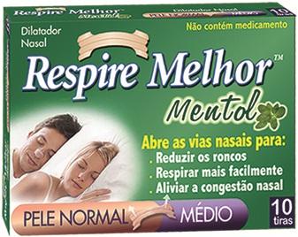 RESPIRE MELHOR MENTOL