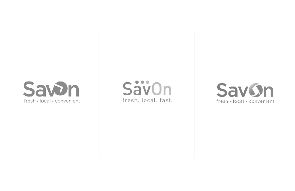 Developed logo concepts