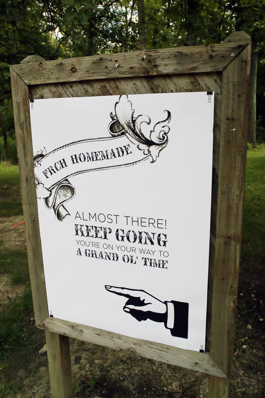 Event Park Signage.