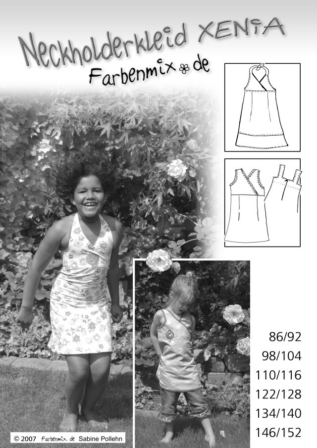 XENIA - KIDS HALTER DRESS SEWING PATTERN BY FARBENMIX.jpg