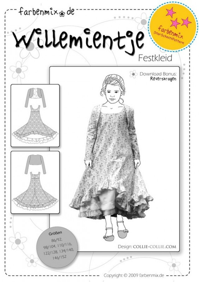 WILLEMIENTJE - KIDS DRESS AND BOLERO SEWING PATTERN BY FARBENMIX.jpg
