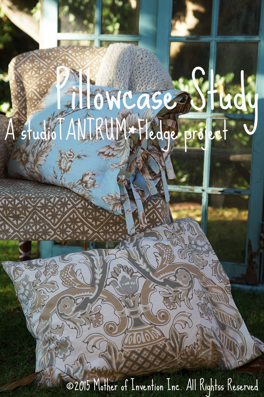 English - Tied Pillow Case Tutorial