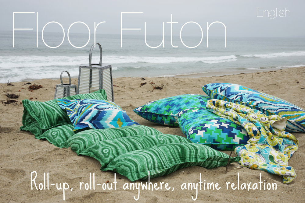 "Try sewing up this flexible, functional, anywhere, anytime futon! Check it out under ""Free""!"