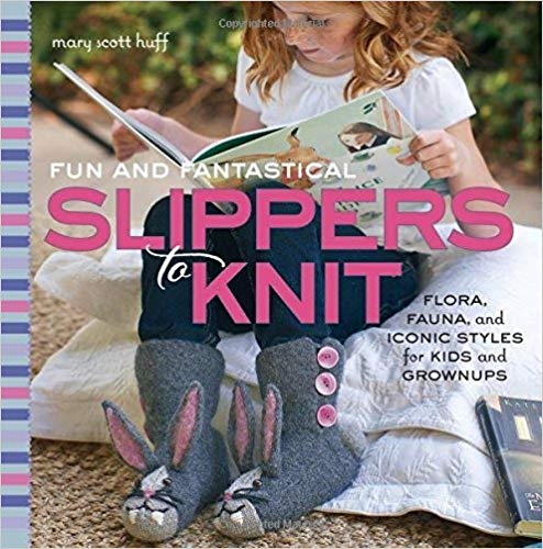 Fun and Fantastical Slippers to Knit