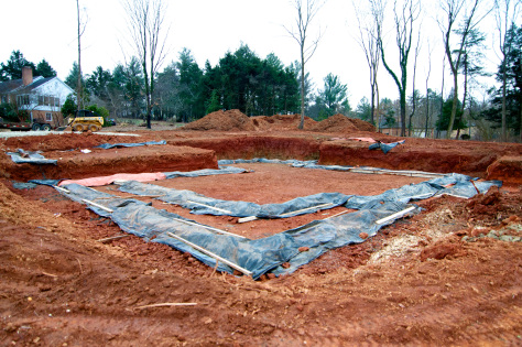 Insulated blankets to protect footers from snow and cold weather