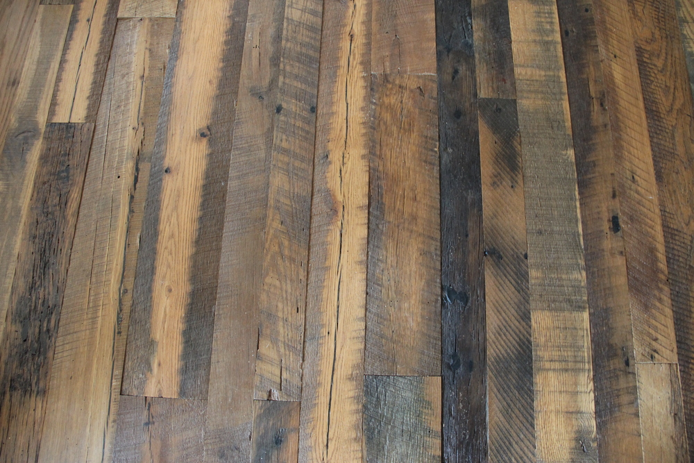 Close-up of beautiful hardwood flooring