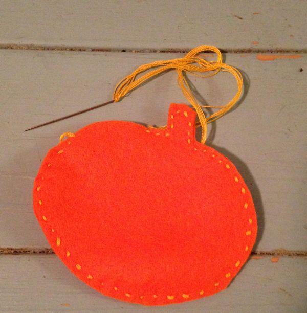more sewn pumpkin