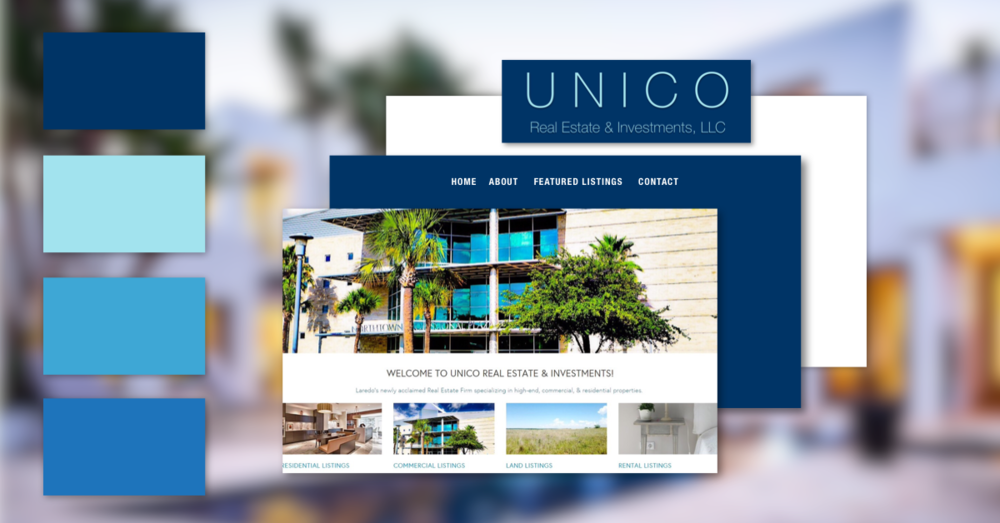 Real Estate Website + Branding Bundle