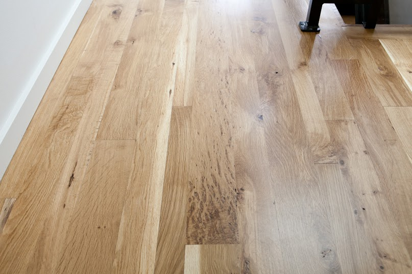 character oregon white oak floor